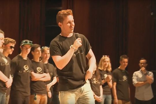 Steubenville Atlantic Sunday July 9, 2017 LEAD Rap & Witness Isaac