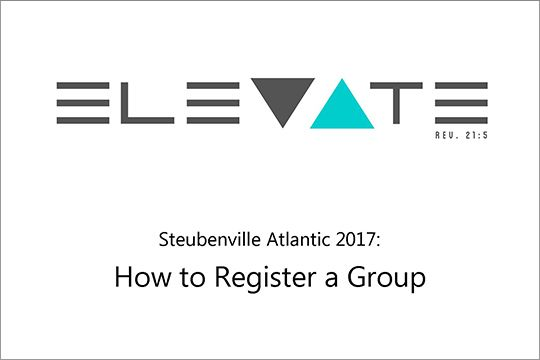 How to Register a Group
