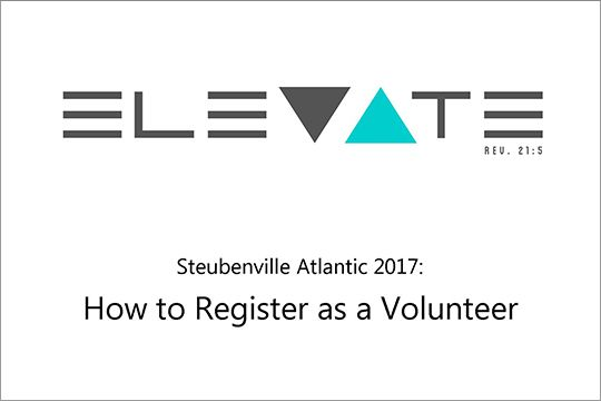 How to Register as a Volunteer
