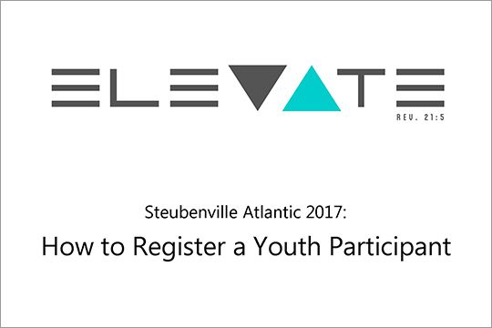 How to Register a Youth Participant