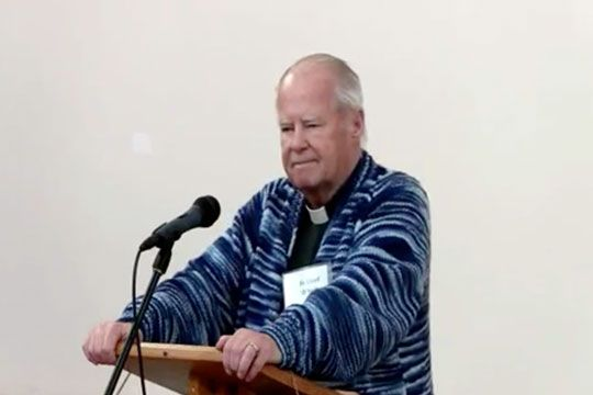 Fr. Lloyd O'Neill reflection on the New Evangelization (video)