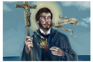 Start your year off with a visit from Saint Francis Xavier!
